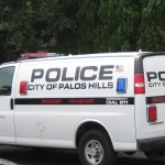 Palos Hills Police Department Prisoner Van