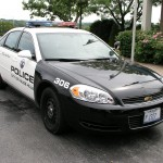 Palos Hills Police Department Squad Car
